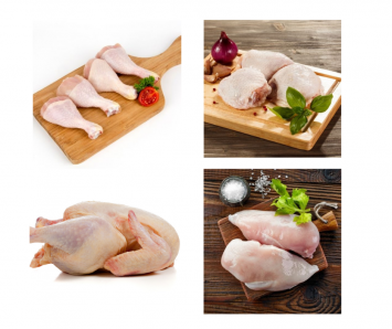 1 Pkg -  Chicken Assortment - Four of Our Best Products