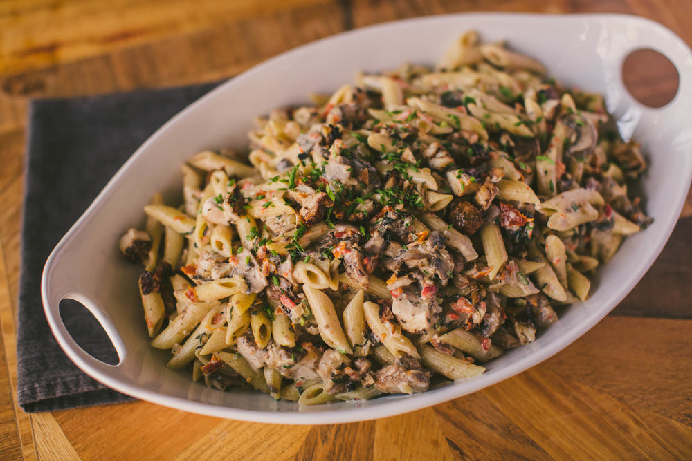 Jerk Chicken Pasta by Chef Shannon Smith