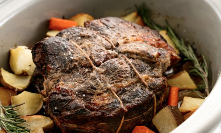 Easy Crockpot Roast Beef