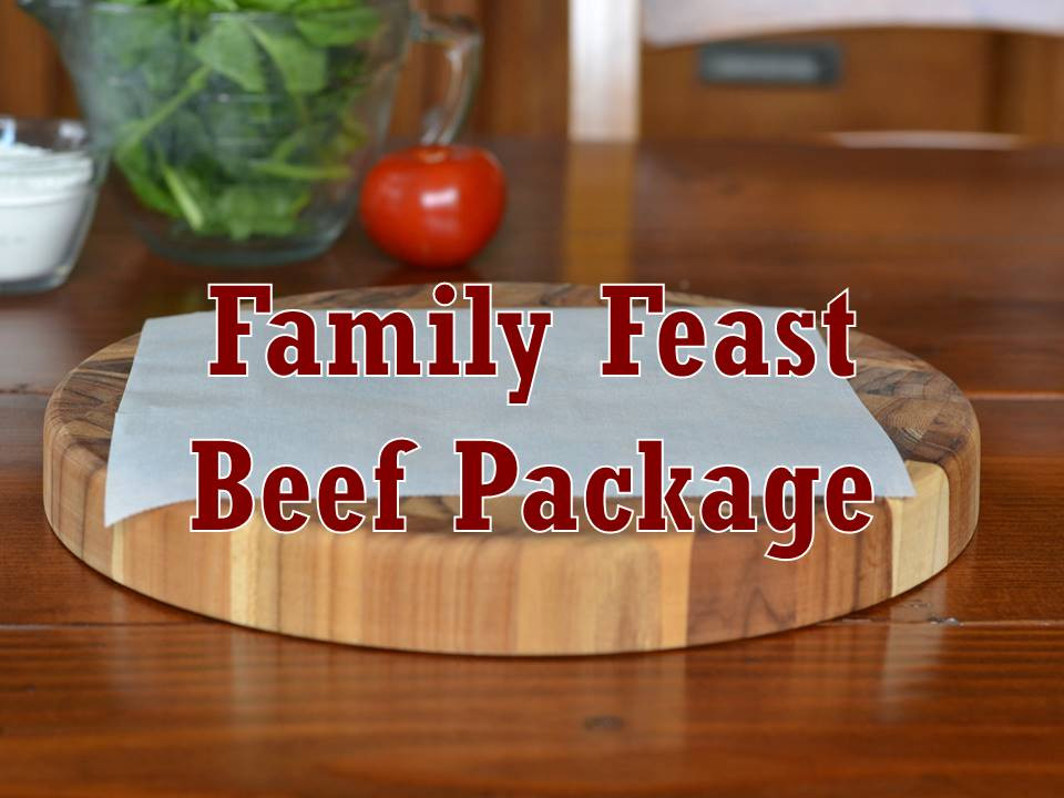 Package, Beef, Family Feast