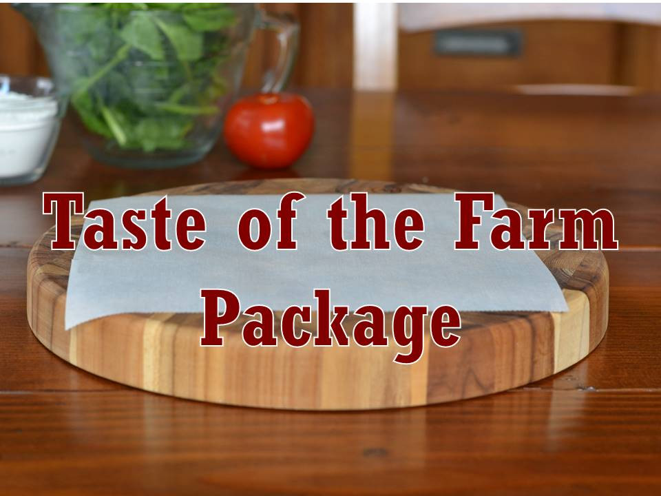 Package, Taste of the Farm