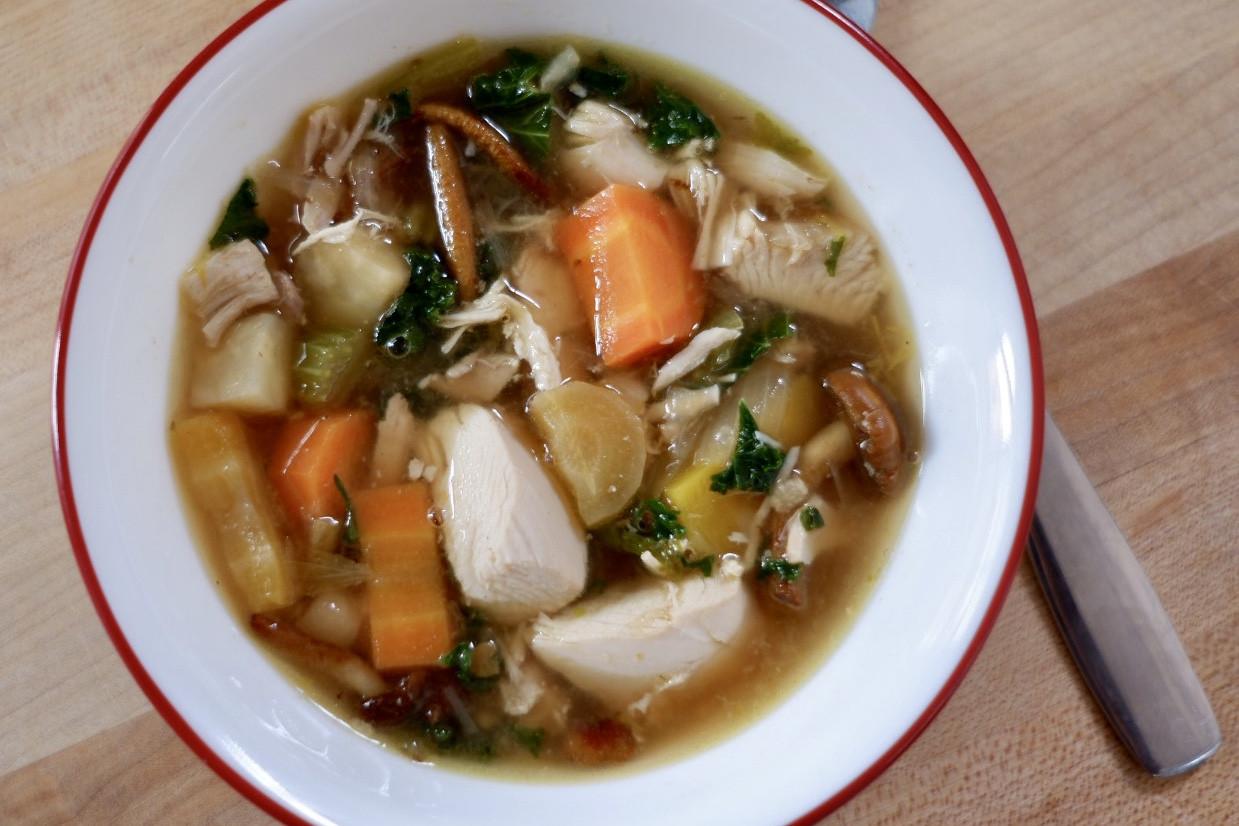 Chicken & Vegetable Soup - Frozen