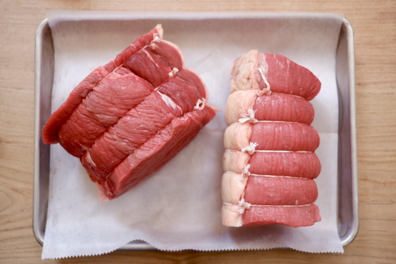 Beef Eye Round Roast - Frozen