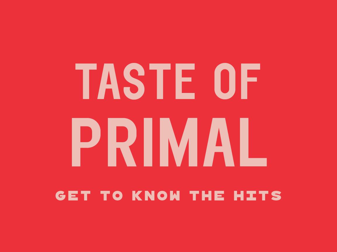 Taste of Primal - Frozen Bundle