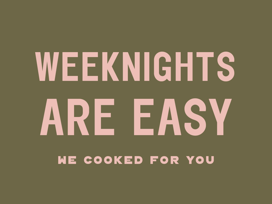 Weeknights Are Easy - Frozen Bundle