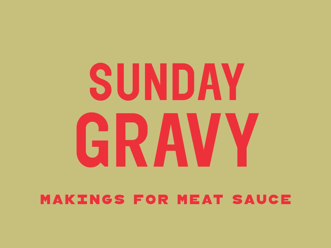 Sunday Gravy - Frozen Bundle