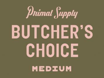 BUTCHER'S CHOICE Medium - Frozen