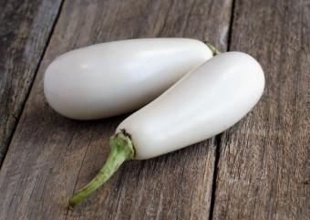 Eggplant - White