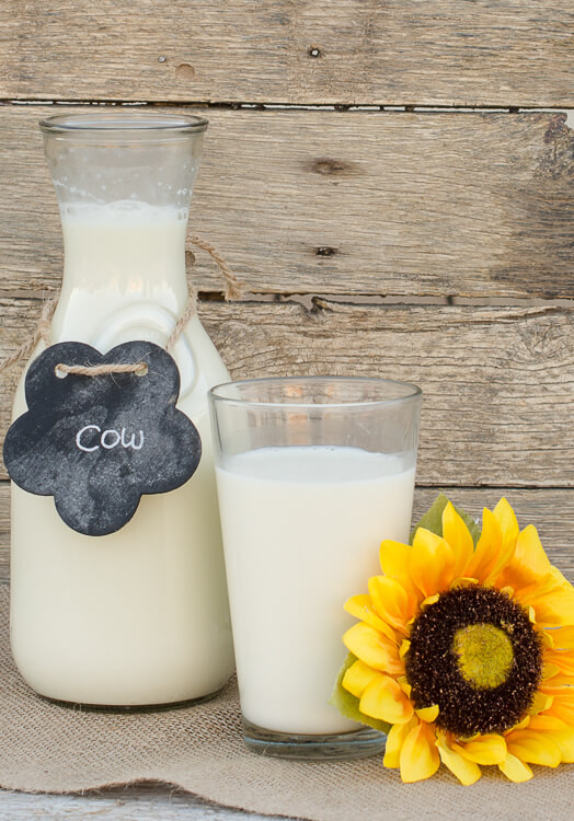 1 Gallon Raw Cream (plastic)