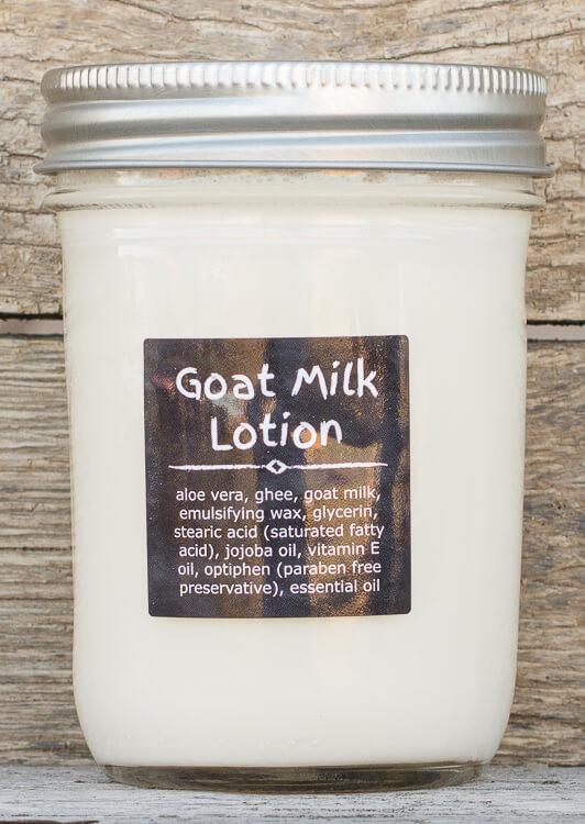 1/2 Pint Goat Milk Lotion (Ghee) gift