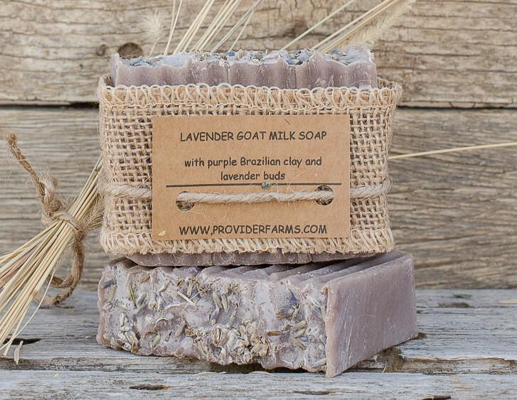 Goat Milk Soap (Purple Lavender)