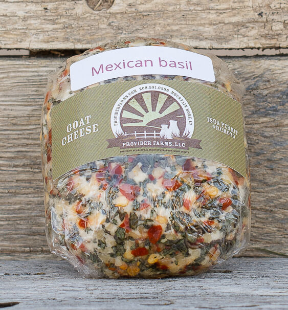Goat Cheese (Mexican Basil)