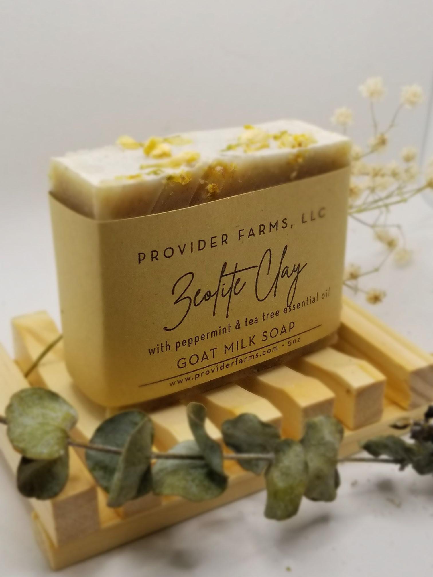 Goat Milk Soap (Zeolite Clay)