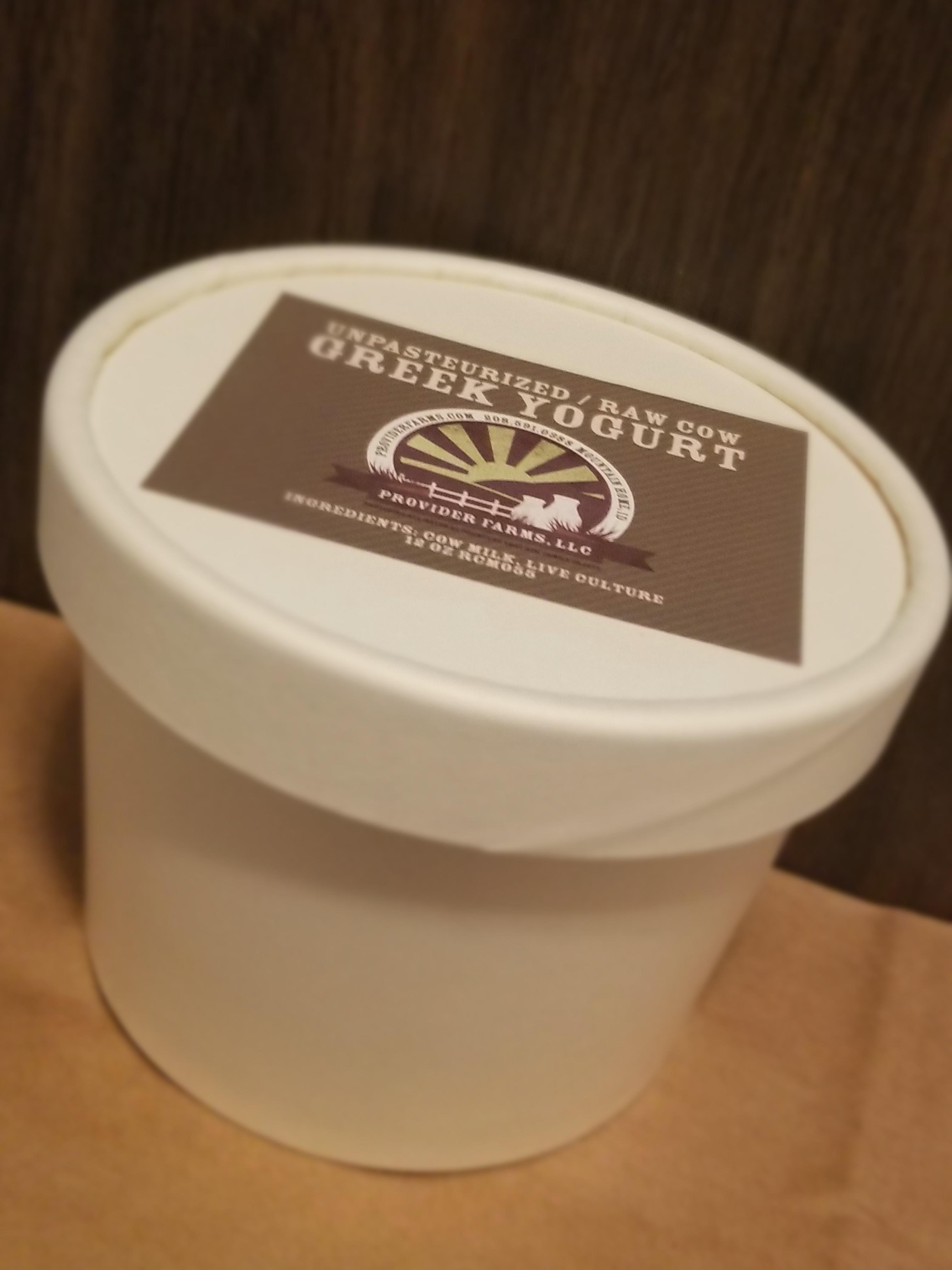 Cow Greek Yogurt