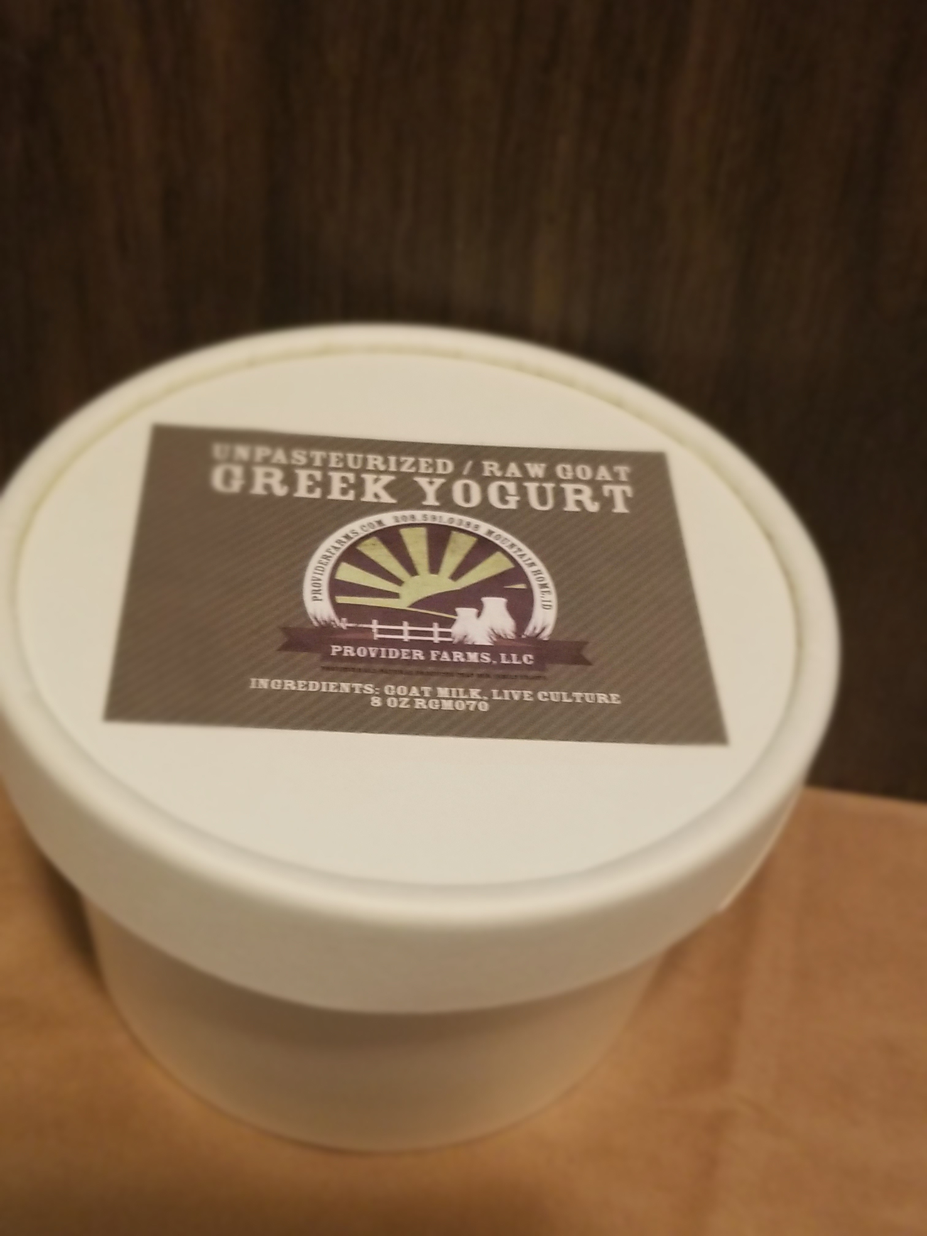 Goat Greek Yogurt