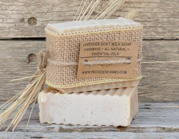 Goat Milk Soap (Lavender)