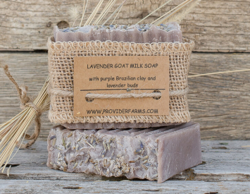 Goat Milk Soap (Purple Lavender)