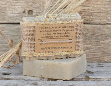 Goat Milk Soap gift (Zeolite Clay)