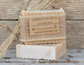 Goat Milk Soap (Peppermint & Tea Tree)
