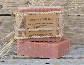 Goat Milk Soap (Rose Clay)