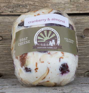 Goat Cheese (Cranberry Almond)