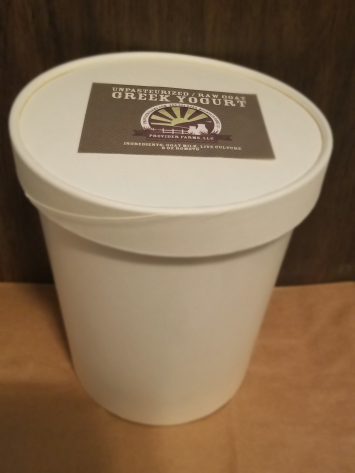 Goat Greek Yogurt (Bulk * 32 oz)