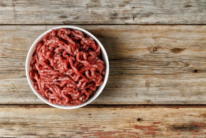 90% Lean Ground Beef package