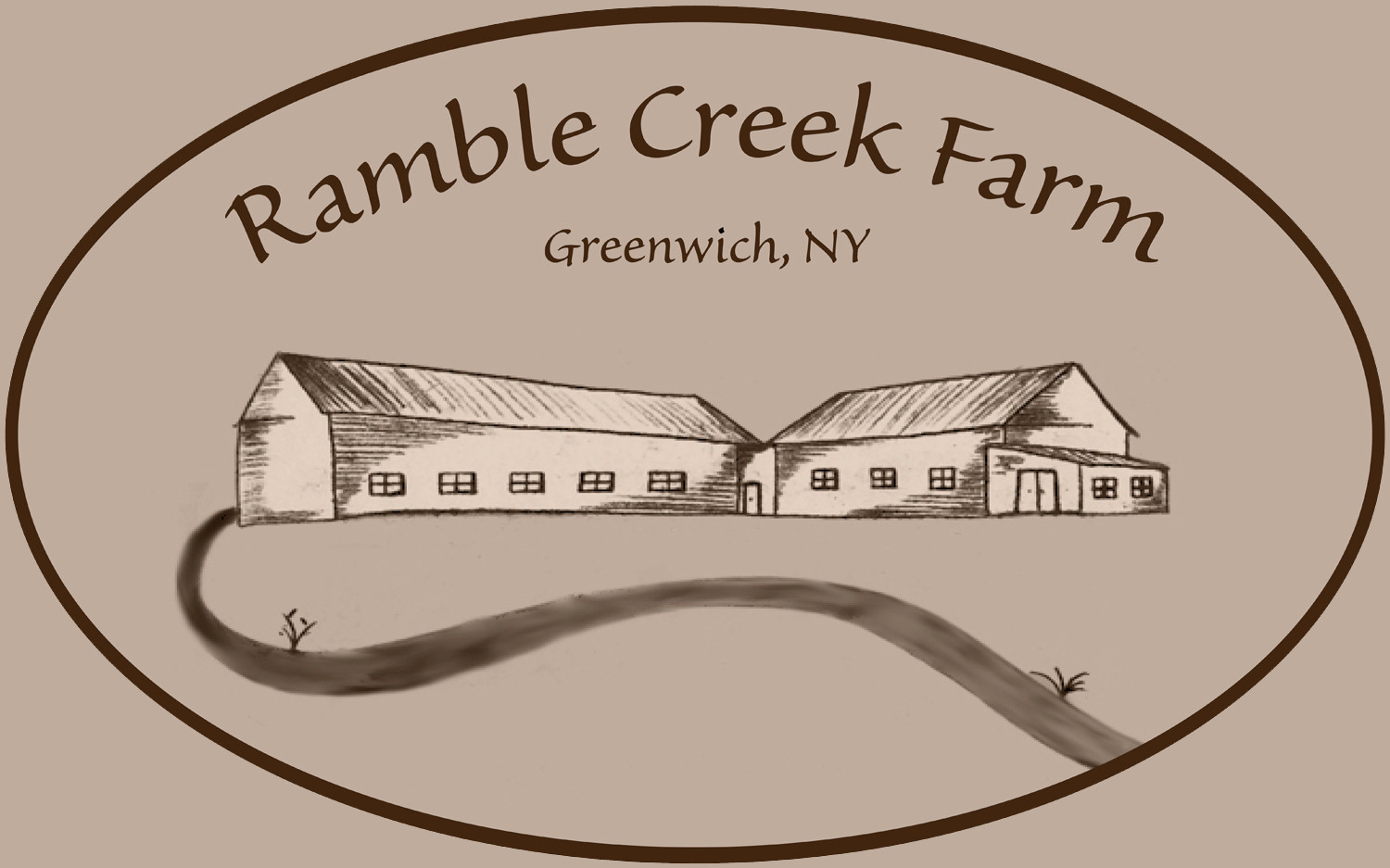 Ramble Creek Farm Logo