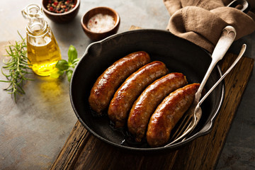 Italian Sausage Links, Spicy