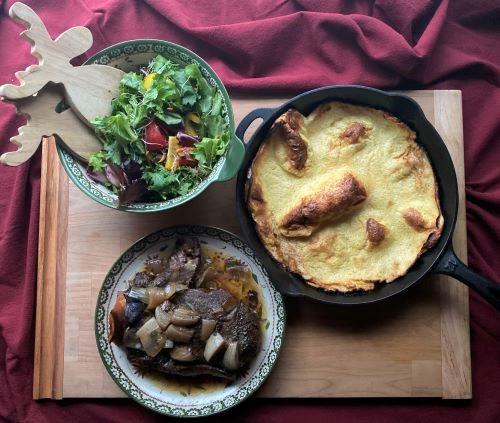 RECIPE: Sweet Balsamic Beef Roast Plus Yorkshire Pudding