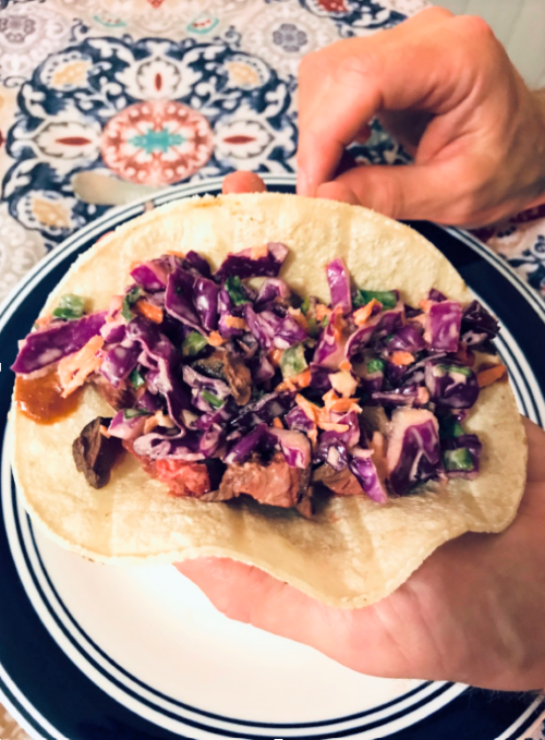 RECIPE: Steve's Slaw, a great filling for tacos