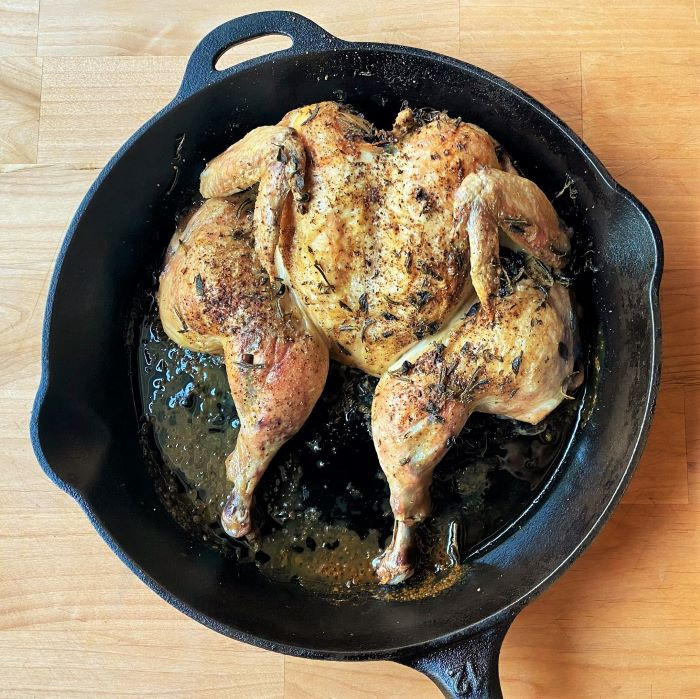 RECIPE: Spatchcock Chicken