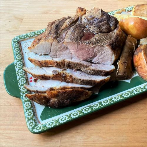 Savory-Sweet Pork Roast