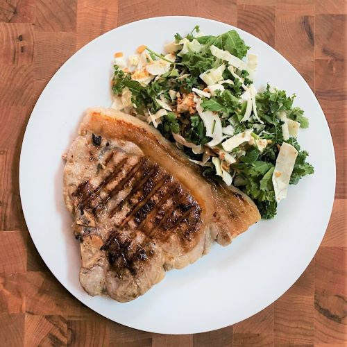 RECIPE:  Herb-Brined Pork Sirloin Chops