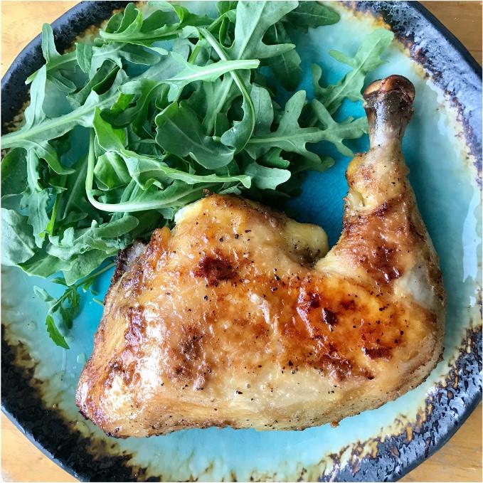 Quick BBQ Chicken Legs