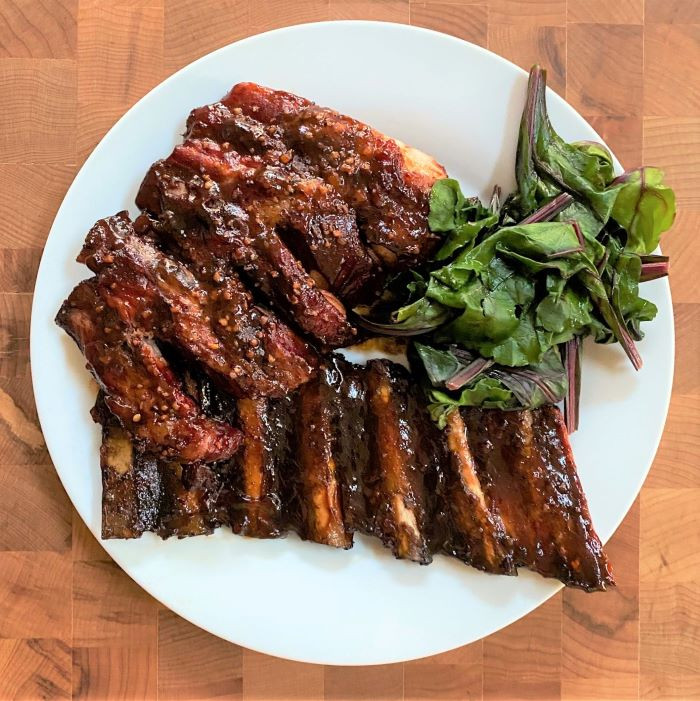 Easy Smoked Spare Ribs