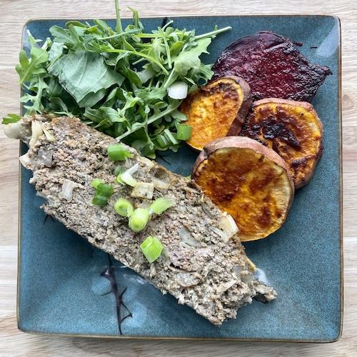 Italian Herb Meatloaf