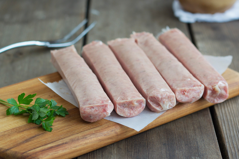 Bourbon Fennel Sausage