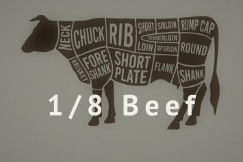 1/8 Beef 35lb Box