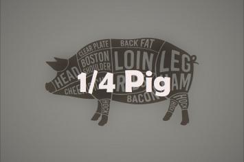1/4 Pork Box