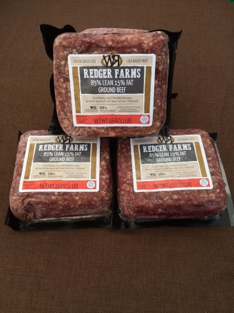 Ground Beef - 3 for $20