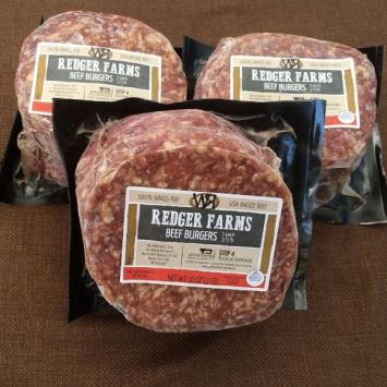 Beef Hamburger Patties - 3 Pack Bundle