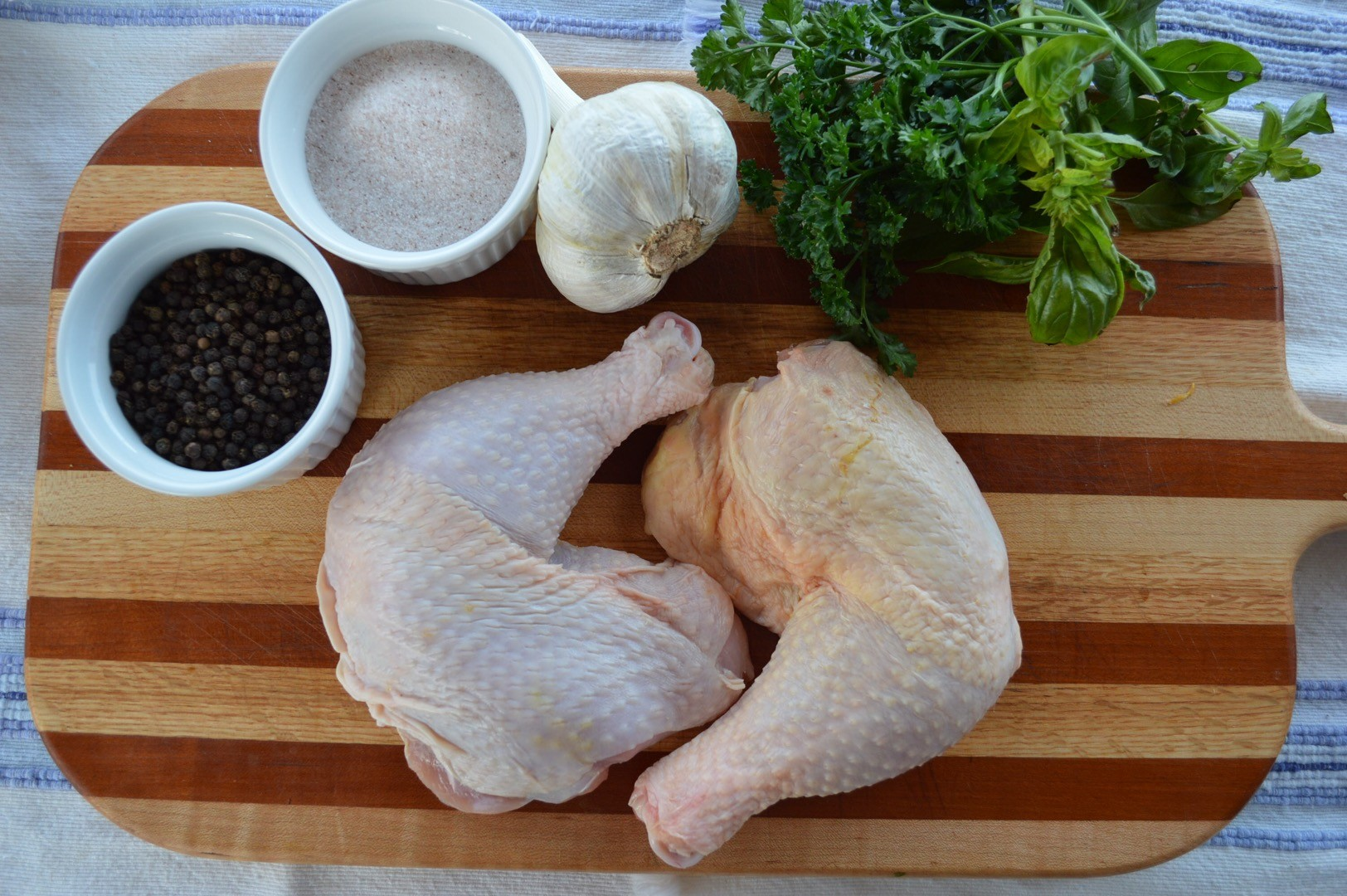 Pasture-Raised Chicken Leg with Thigh (2 per pack)
