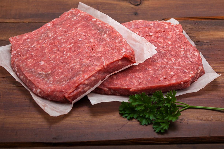 Beef, breakfast patties