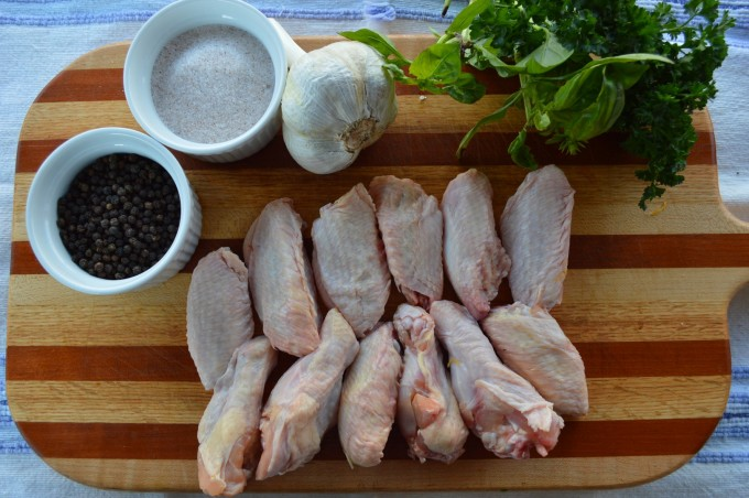 Pastured-Raised Chicken Wings