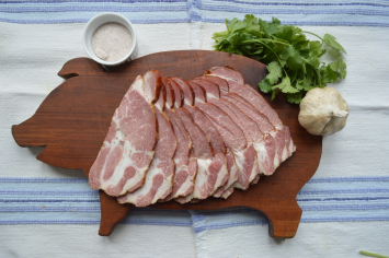 Pork, Cottage or shoulder bacon
