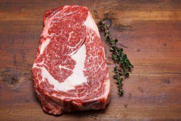 Beef Delmonico steak