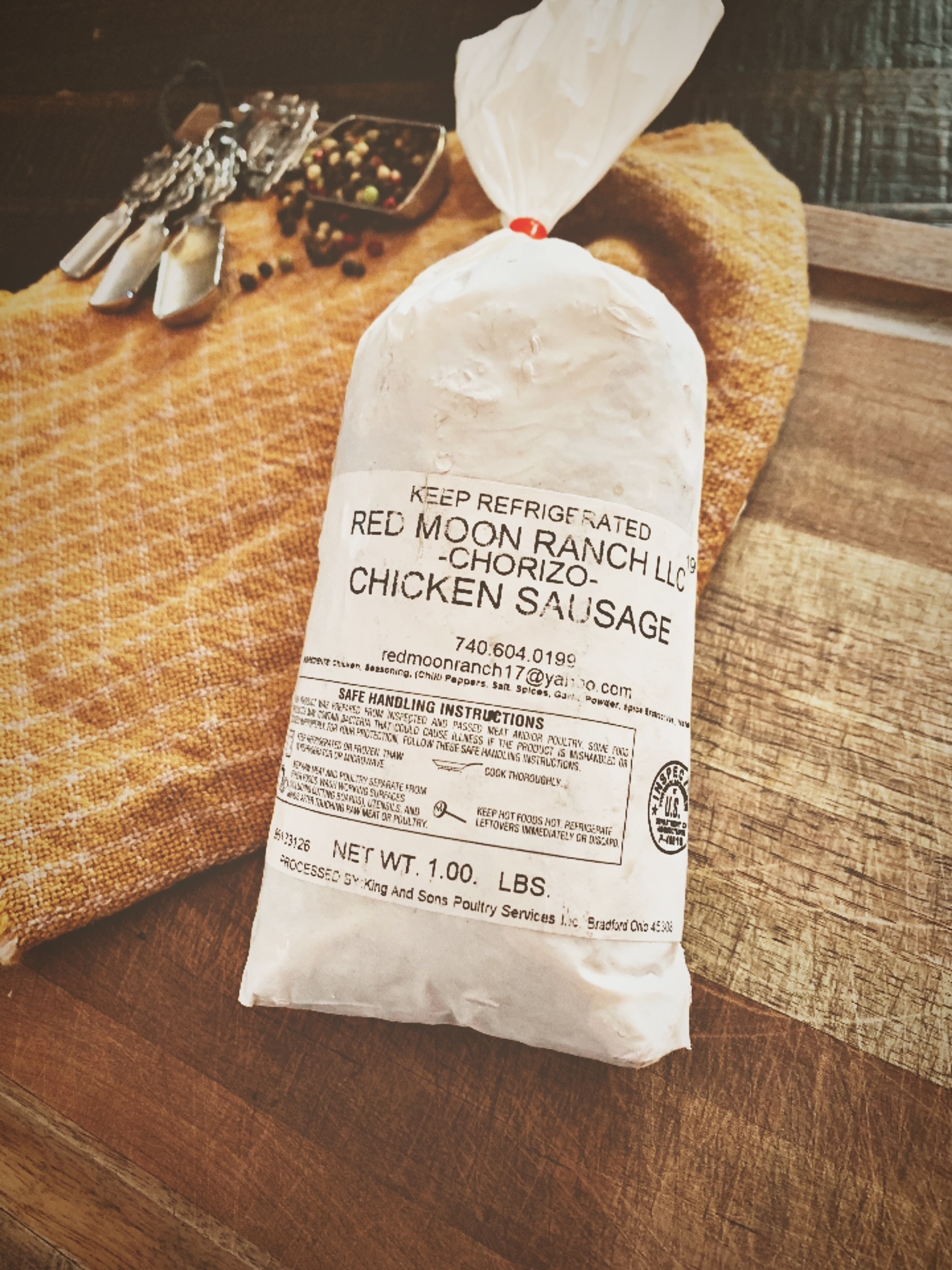 Ground Chicken Chorizo