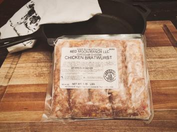 Chicken Cheddar Brats