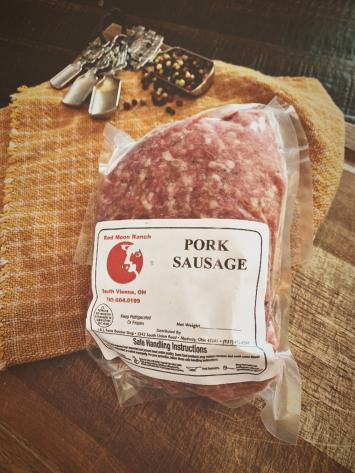 Ground Pork (salt and pepper)